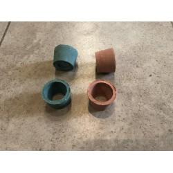 Керамический горшок для растений малый 4,5см х 3см