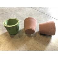 Керамический горшок для растений средний 5,5см х 5см