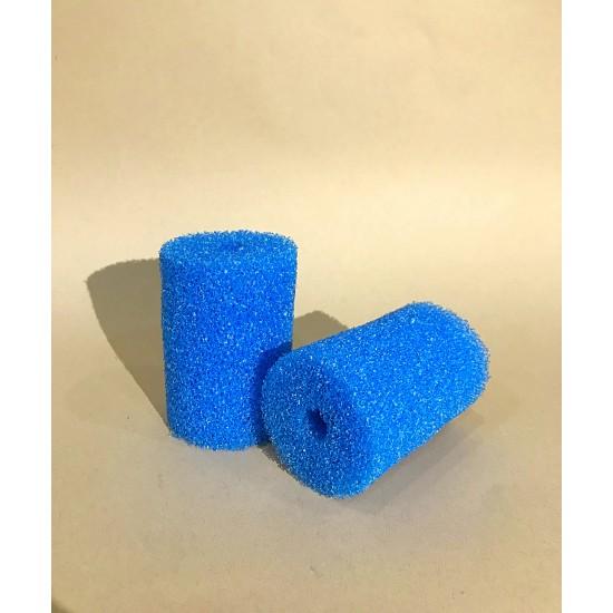 Фото Губка гладкая синяя круглая среднепористая 8х14 Смотреть