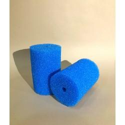 Губка гладкая синяя круглая среднепористая 10х15