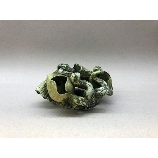 Фото Декорация керамика амфора на камне двойная - 16см х 12см Смотреть