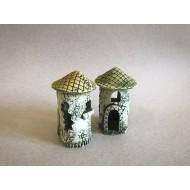 Декорация керамика башня - 11см х 6см