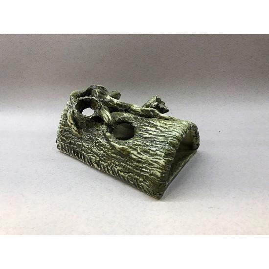 Фото Декорация керамика бревно полусфера - 17см х 10см Смотреть