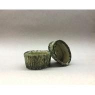 Декорация керамика горшок овальный 8см х 4,5см