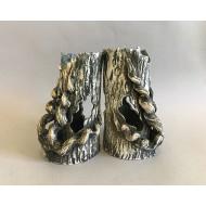 Декорация керамика коряга (тополь) 18см х 10см