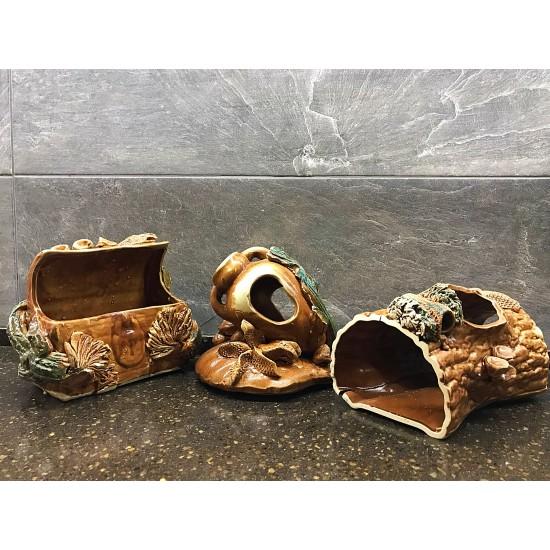 Фото Декорация керамика в ассортименте (сундук, башни, камни и тд) - 15-25см Смотреть