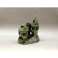 Декорация керамика замок тройной - 15см х 12см