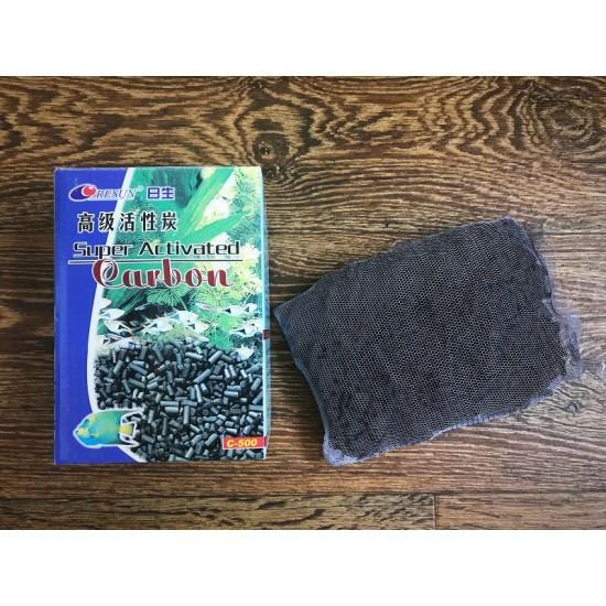Фото Уголь активированный Resun 500грамм labeo.com.ua